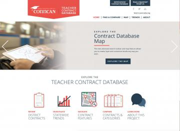 ConnCAN Teacher Contract Database