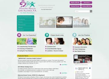 Pediatric Health Care Alliance, P.A.